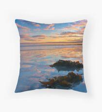 Reflection of Long Beach, Robe, SA Throw Pillow