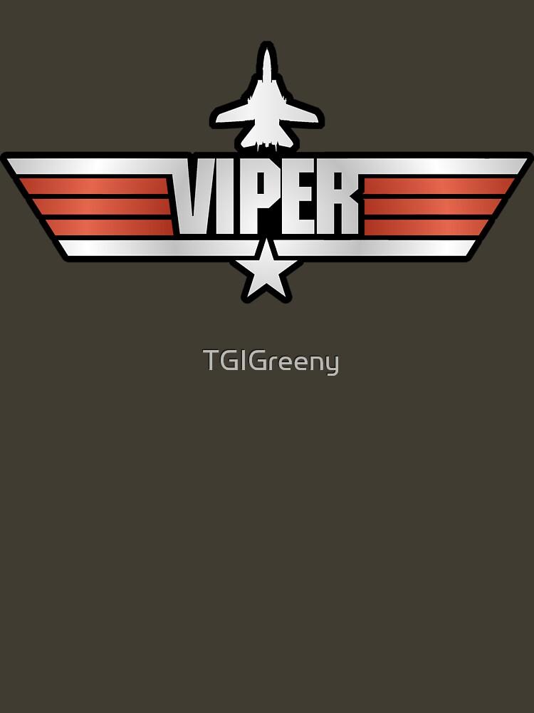 TShirtGifter presents: Top Gun Viper (with Tomcat) | Unisex T-Shirt