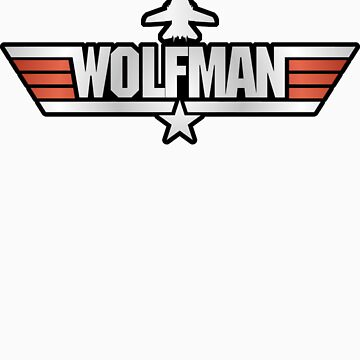 Top Gun Wolfman (with F14) by TGIGreeny