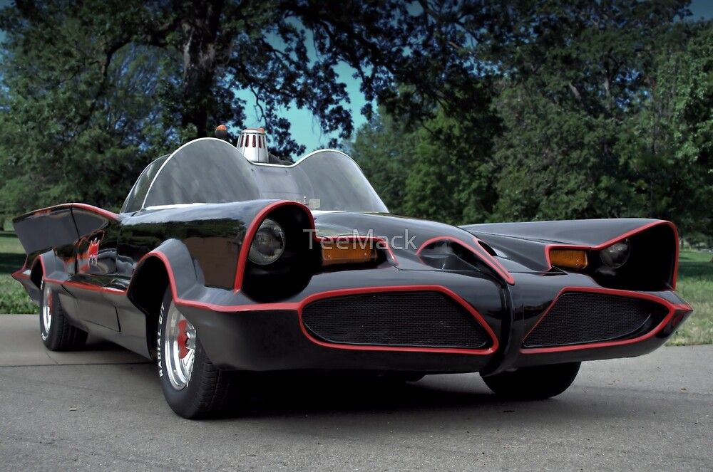 The Batmobile by TeeMack