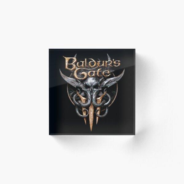 Baldur's Gate 3 Acrylic Block