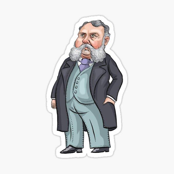 President Chester A. Arthur Sticker