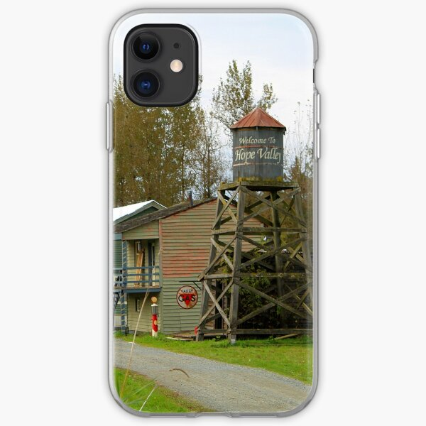Hope Valley Water tower & Town iPhone Soft Case