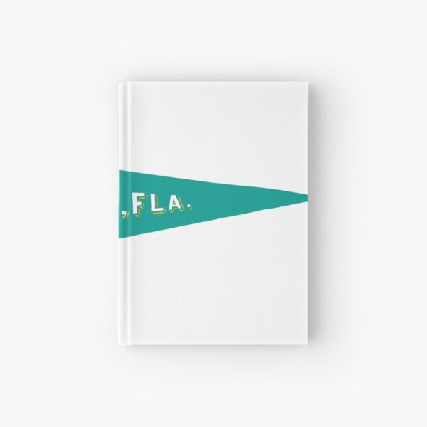 Miami Pennant Hardcover Journal