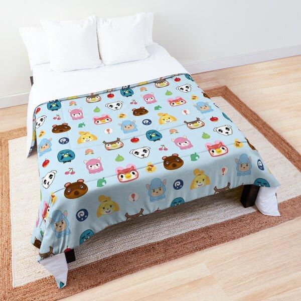 Animal Crossing Pattern Comforter