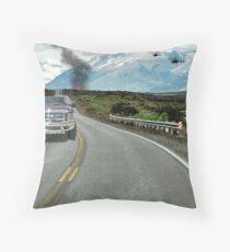 Randall Flagg Gets Away Again Throw Pillow
