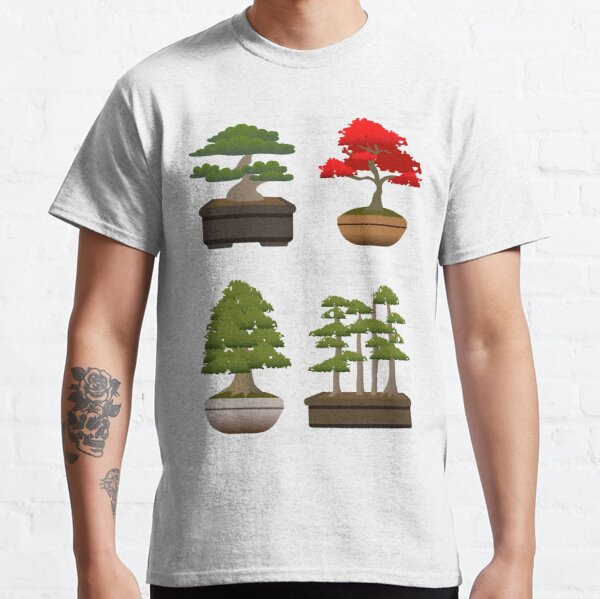 Japanese Bonsai Pattern Classic T-Shirt