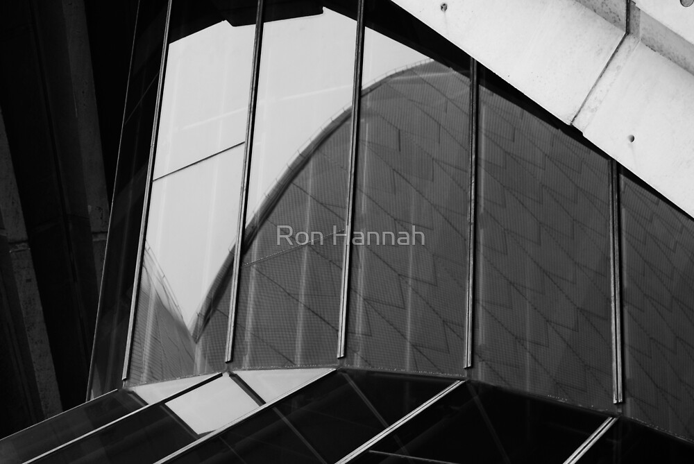 Opera House Reflections by Ronald Hannah