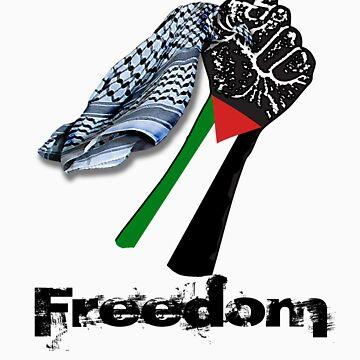 PALESTINE FREEDOM by Yago