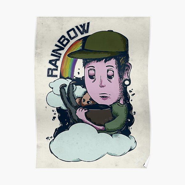 rainbow. Poster
