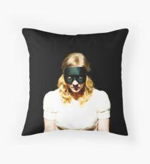 Melancholic Goldilocks Throw Pillow