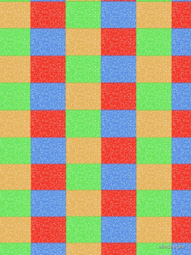 Colorful Patchwork by elledeegee