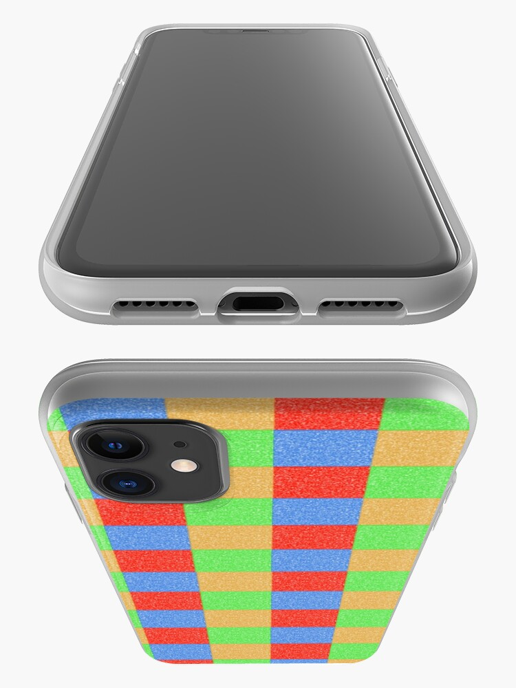 Alternate view of Colorful Patchwork iPhone Case & Cover