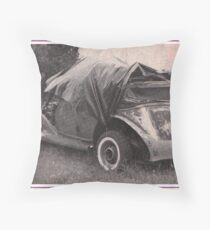 1935 Auburn Convertible Sedan Throw Pillow