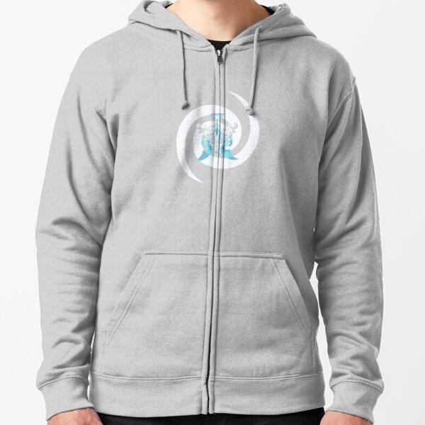Crystal Sea Creature Zipped Hoodie