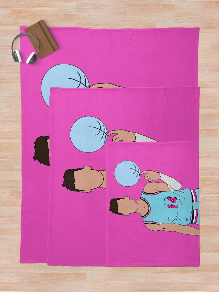 Alternate view of Tyler Herro Vice Throw Blanket