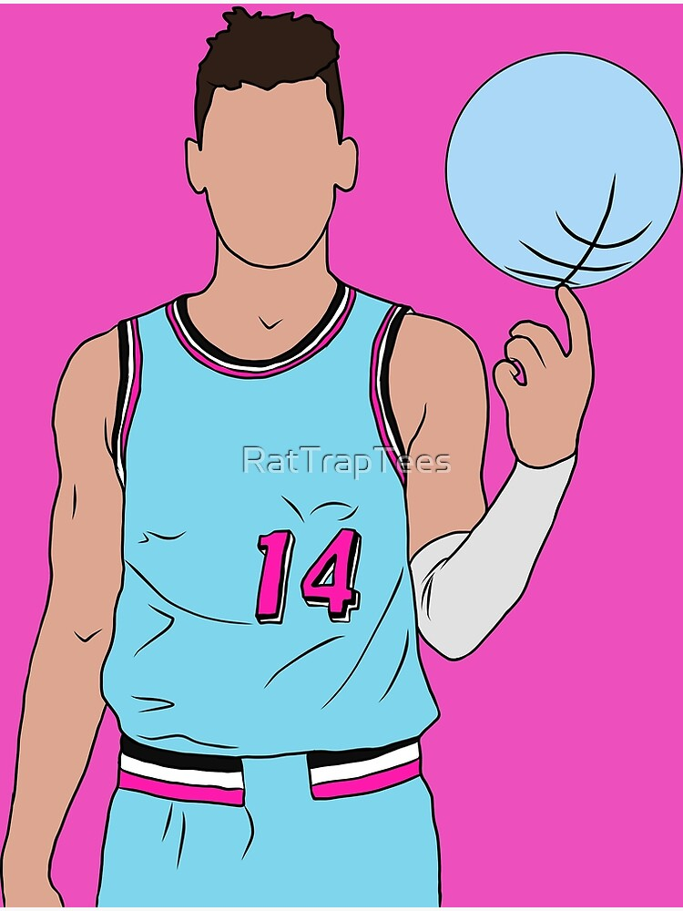 Tyler Herro Vice Greeting Card By Rattraptees Redbubble