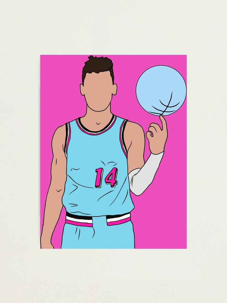 Tyler Herro Vice Photographic Print By Rattraptees Redbubble