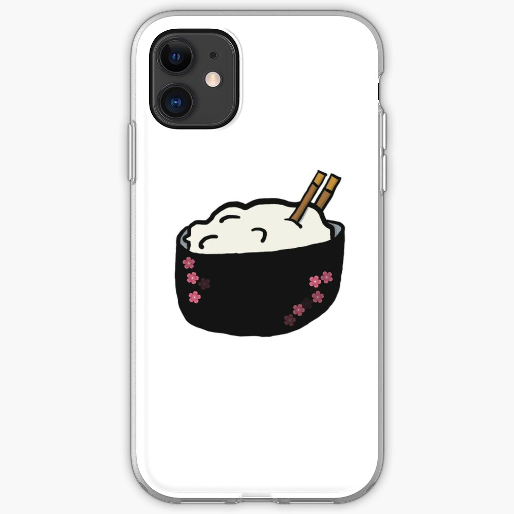 rice bowl iPhone Case & Cover