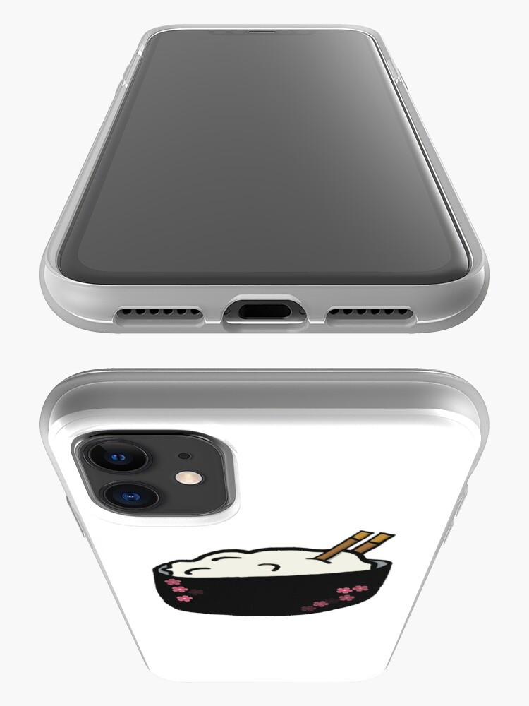 Alternate view of rice bowl iPhone Case & Cover