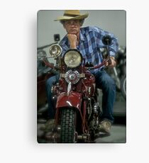 """Polish Harley - Davidson - Falcon 1000 cm3  &   """" Easy Rider """"    Brown Sugar . by EvitaKittyCat  . Tribute to LOVE. Favorites: 2 Views: 957  Featurted* thank you !!! Canvas Print"""
