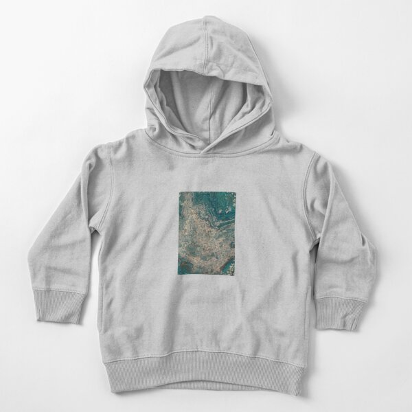 Elements of the Sea  Toddler Pullover Hoodie