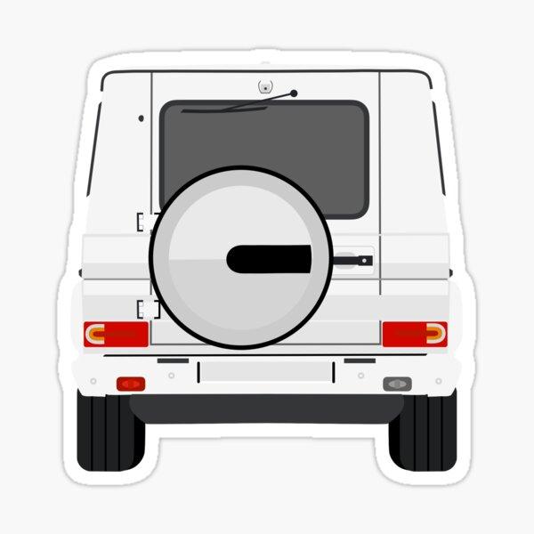 G Wagon (white) Sticker