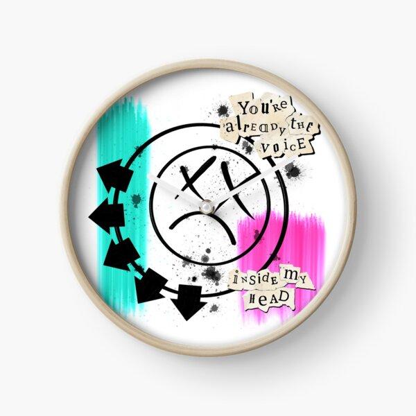 The voice inside my head Clock