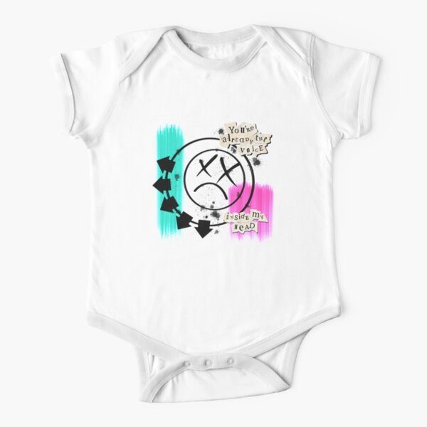 The voice inside my head Short Sleeve Baby One-Piece
