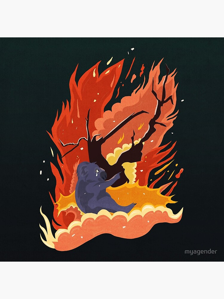 australia burns. by myagender