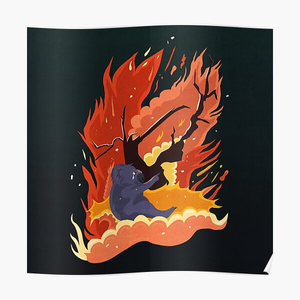 australia burns. Poster