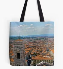 Panorama of Florence Tote Bag