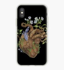 Heart - Wood iPhone Case