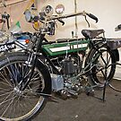 1911 BSA motorcycle.  by Fred Taylor