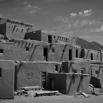 Taos Pueblo  by RFotographique