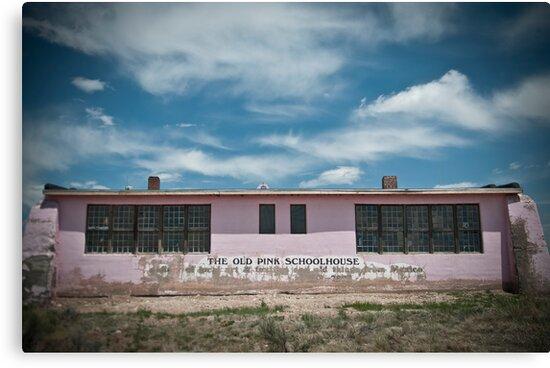 Old Pink Schoolhouse by Matthew Osier