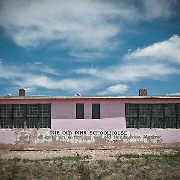 Old Pink Schoolhouse by RFotographique