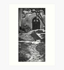 Old Taos Guesthouse Art Print