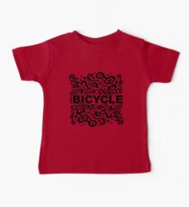 Ride a Bicycle - funky Baby Tee