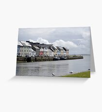 Galway Claddagh Greeting Card