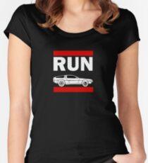 RUN DMC Women's Fitted Scoop T-Shirt