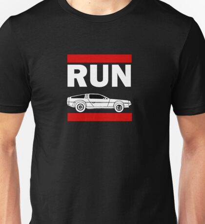 Run DMC DeLorean Funny T-shirt