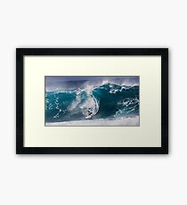 Pipeline Surfer 10 Framed Print