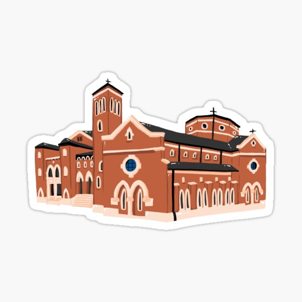 St. Thomas Aquinas Newman Center Sticker