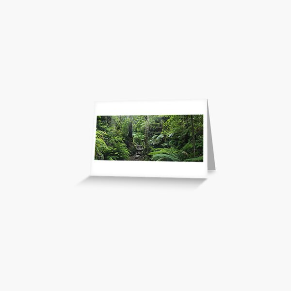 The Fernery, Grand Canyon. Greeting Card