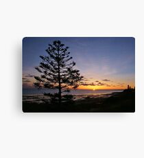 """sunrise"" ~ Kingscote, Kangaroo Island Canvas Print"