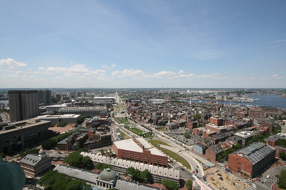 Boston From Above by Michelle Callahan