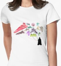 Balloons From The Dark Side Women's Fitted T-Shirt