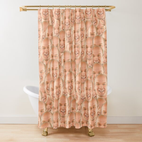 LOTS OF BOB DUNCAN Shower Curtain