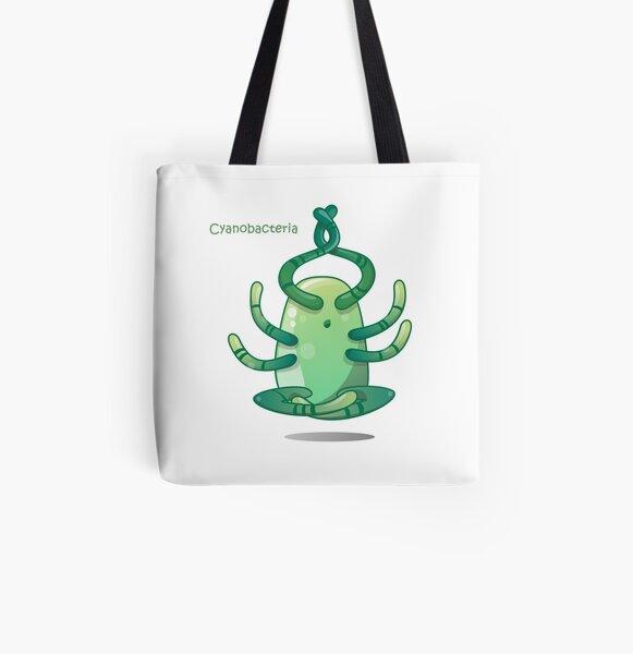 Cyanobakterien Allover-Print Tote Bag